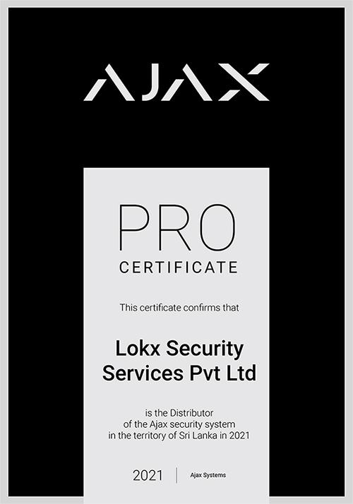 (Lokx) Pro Certificate 2021