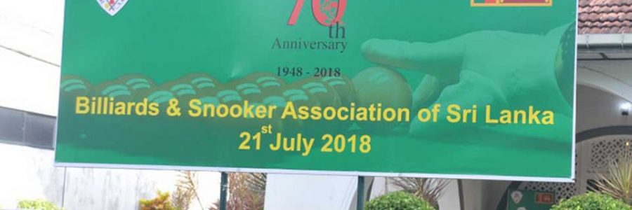 70th Anniversary Celebrations of Billiards & Snooker Association