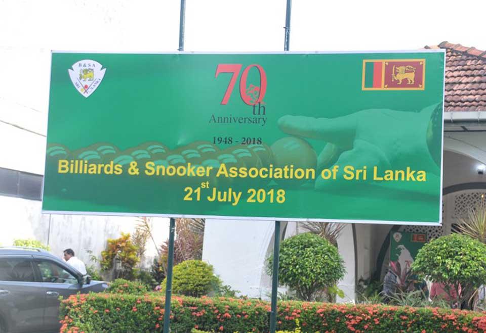 Guernsey Billiards Snooker Association: 70th Anniversary Celebrations Of Billiards & Snooker