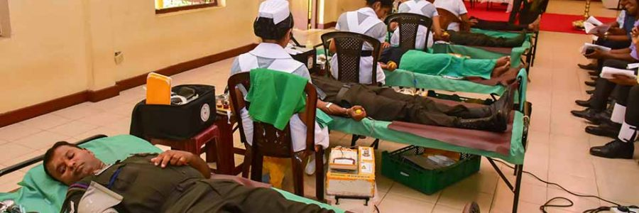 Blood Donation Campaign – All Ceylon Buddhist Congress.